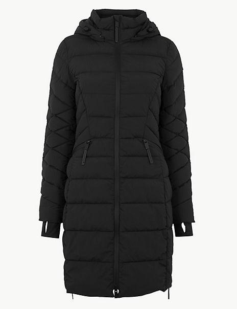 Stretch Longline Padded Coat