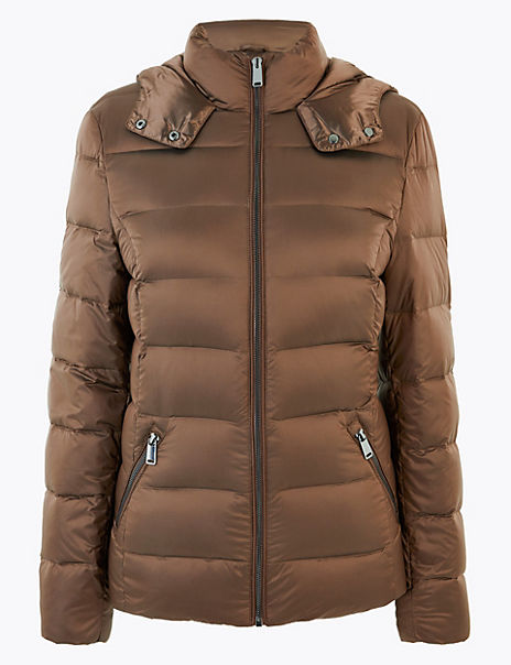 Down & Feather Padded Jacket