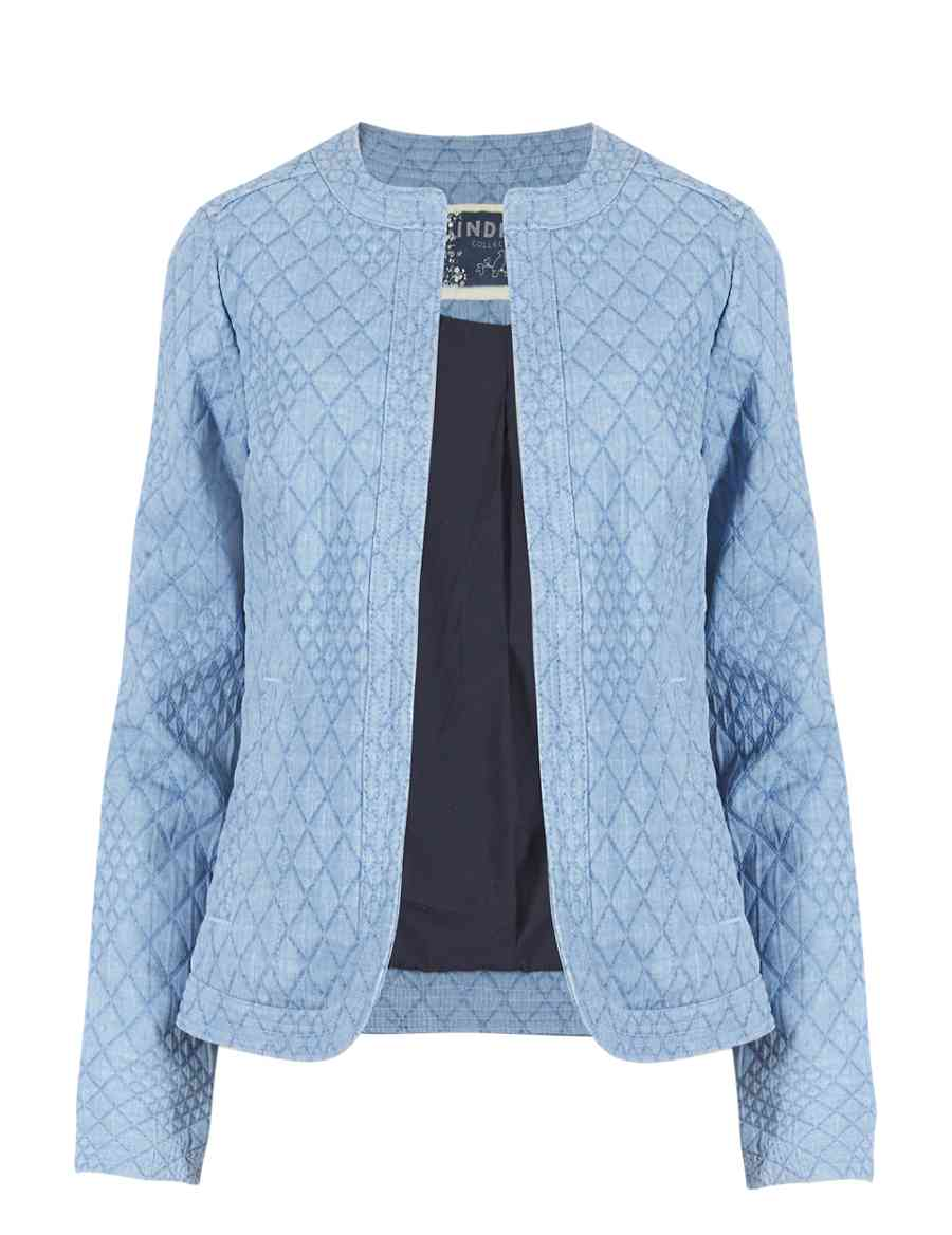 4ac0ea1658 Open Front Quilted Jacket