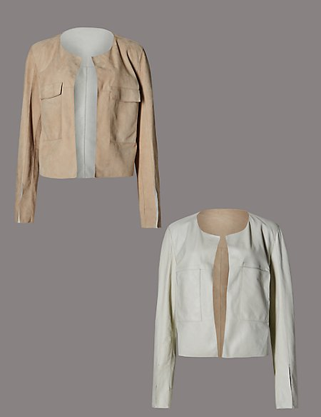 Suede Reversible Jacket
