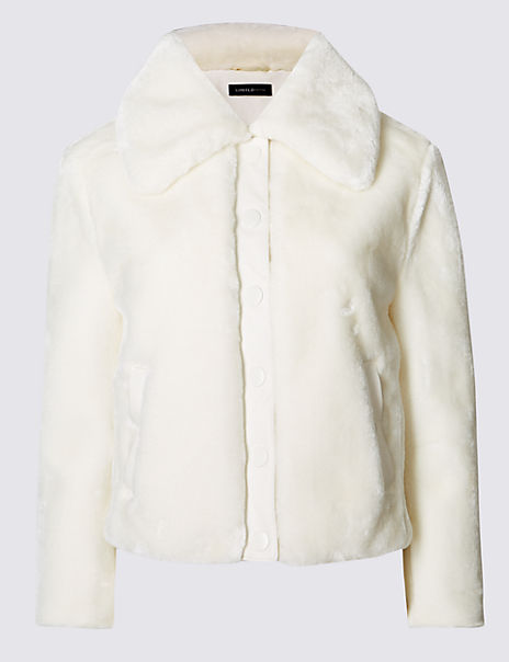 Faux Fur Lined Jacket