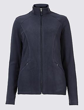 Panelled Fleece Jacket