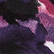 Floral Print Funnel Neck Fleece Jacket, MULTI, swatch