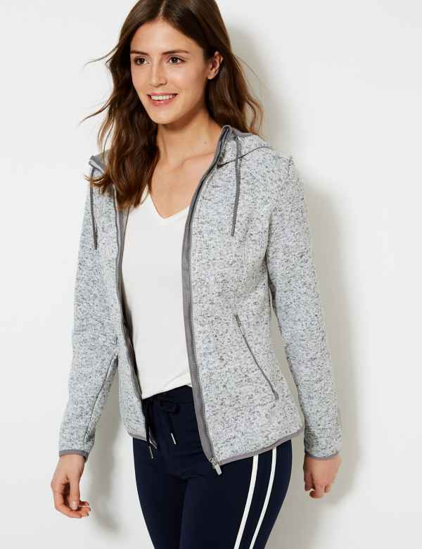 Knitted Fleece Jacket 8493d71922