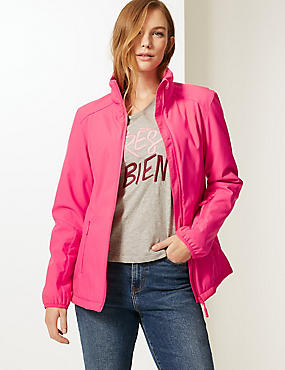 Funnel Neck Fleece Jacket with Stormwear™