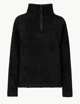 Textured Borg Fleece by Marks & Spencer