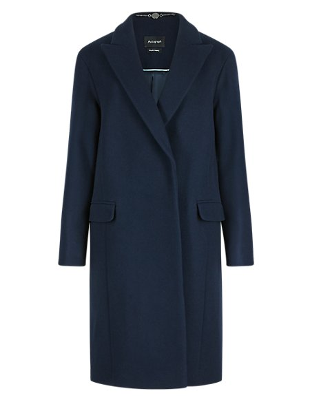 Wool Rich Cocoon Coat