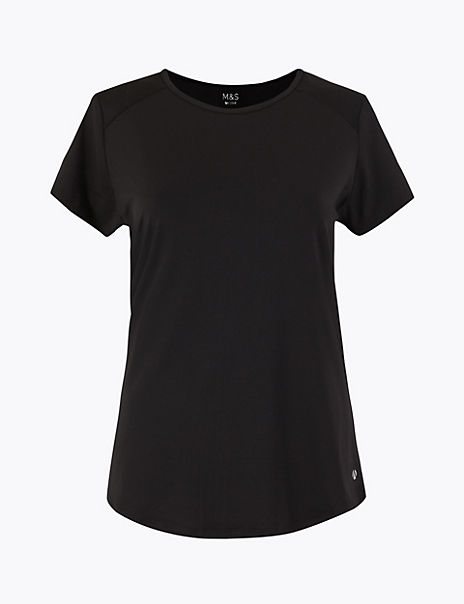 Moisture Wicking Round Neck Top