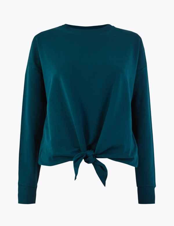 64fe20aa Ladies Sweatshirt Tops & T-Shirts | Hoodies for Women | M&S