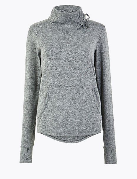 Jaspe Funnel Neck Sweatshirt
