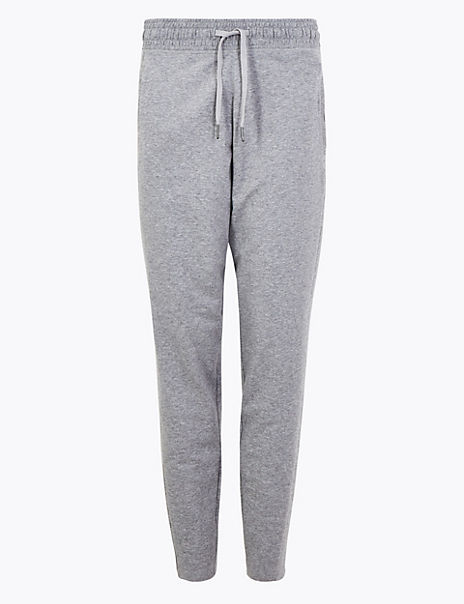 Cotton Rich Tapered Leg Joggers