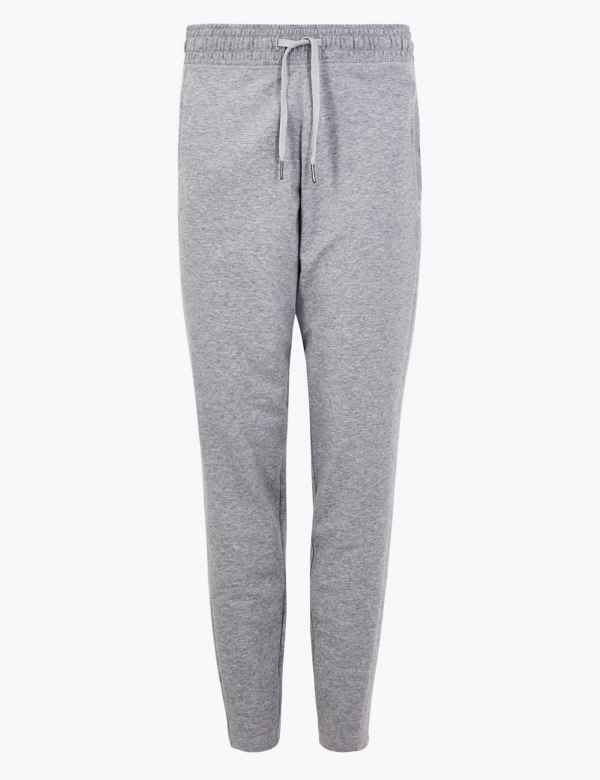 c3b35267e9fd38 Moisture Wicking Tapered Leg Joggers. New. M&S Collection