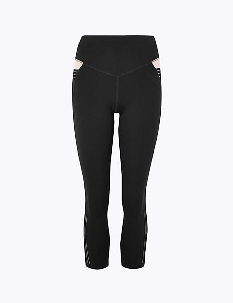 Quick Dry Cropped Leggings