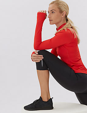 Go Train Cropped Gym Leggings