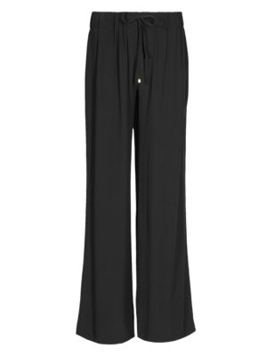 Elasticated Waist Cr 234 Pe Beach Trousers M Amp S Collection M Amp S