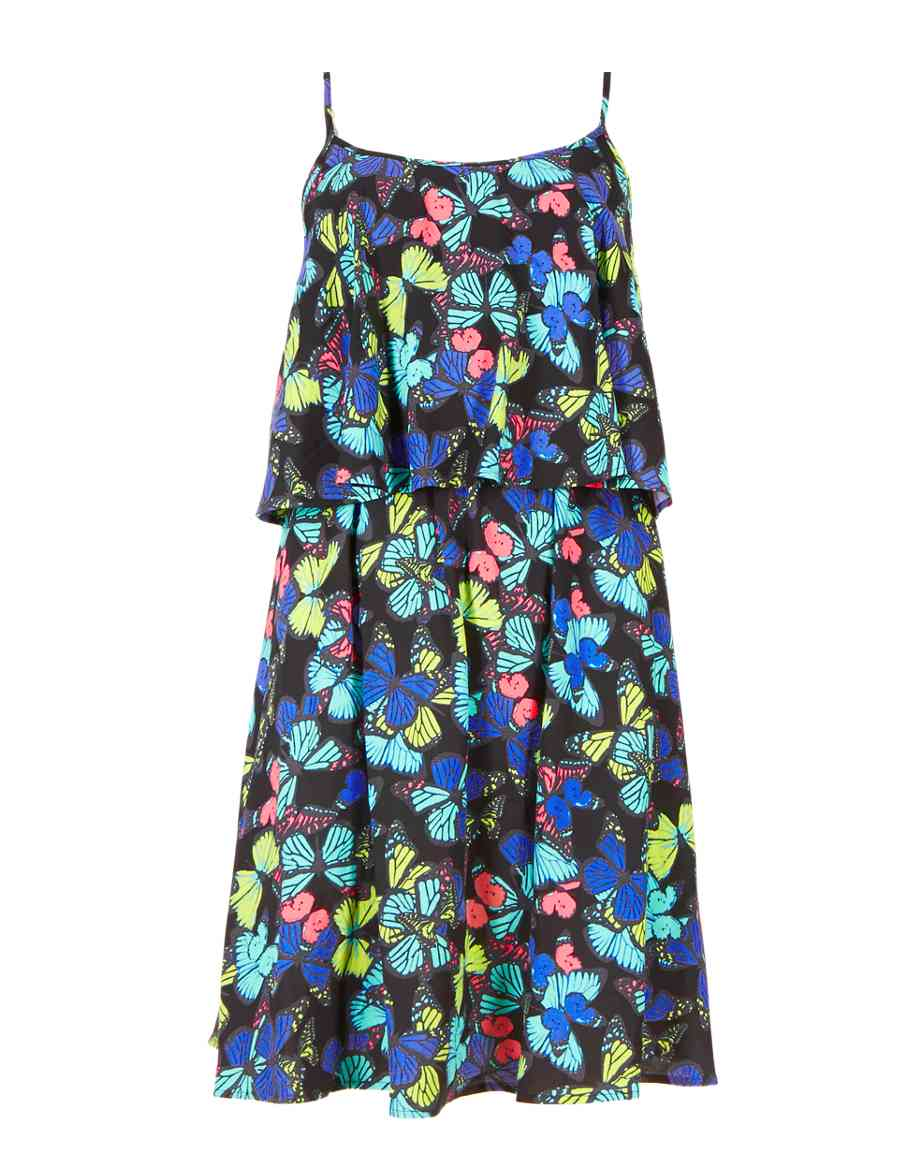 bdb14d334d Butterfly Print Fit & Flare Beach Dress | Limited Edition | M&S