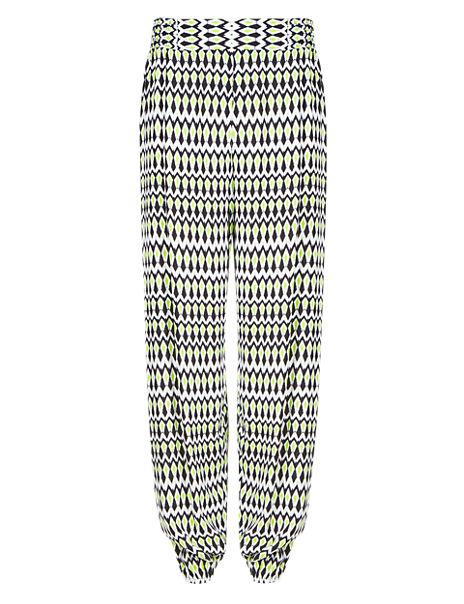 Tribal Print Harem Beach Trousers