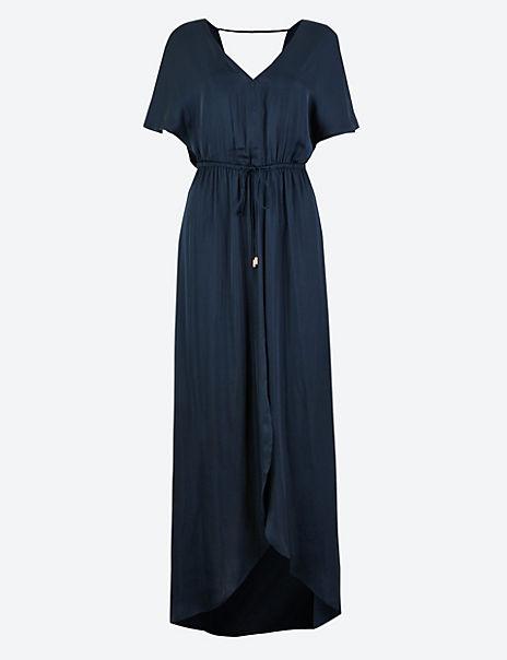 Satin Beach Dress