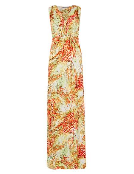 Samba Snake Print Maxi Beach Dress