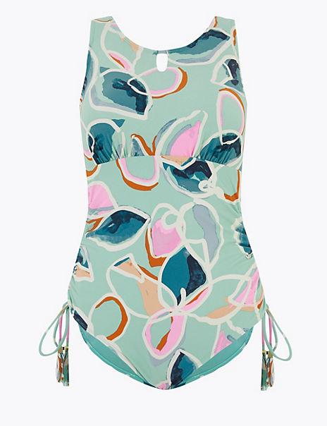 Floral Print Post Surgery Swimsuit