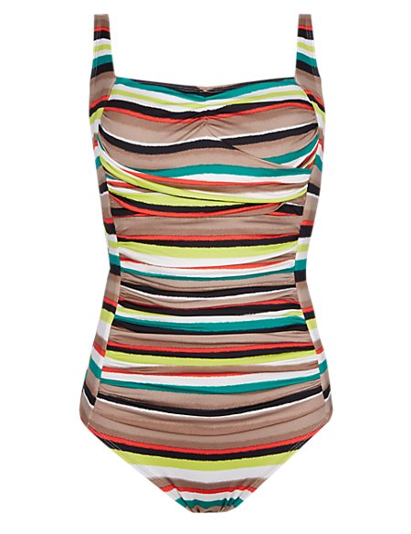 Post Surgery Desert Striped Swimsuit