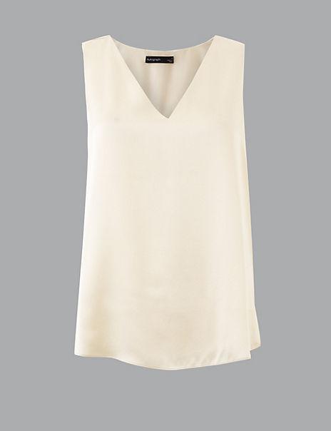 Pure Silk Vest Top