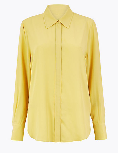 Collared Neck Blouse