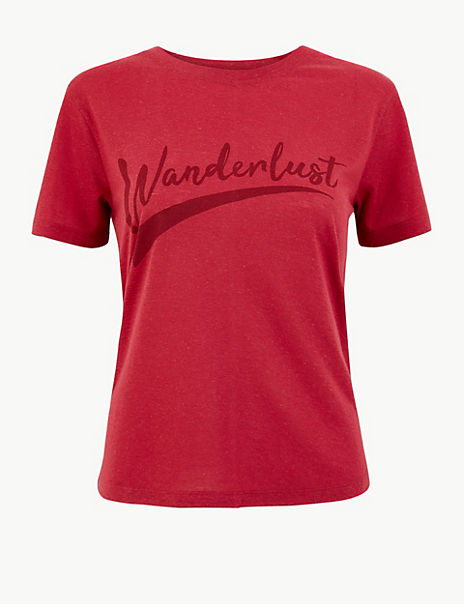 Wanderlust Regular Fit T-Shirt
