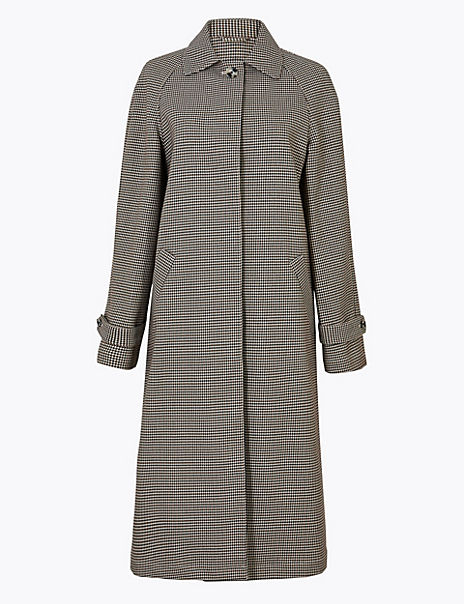 Dogtooth Car Coat