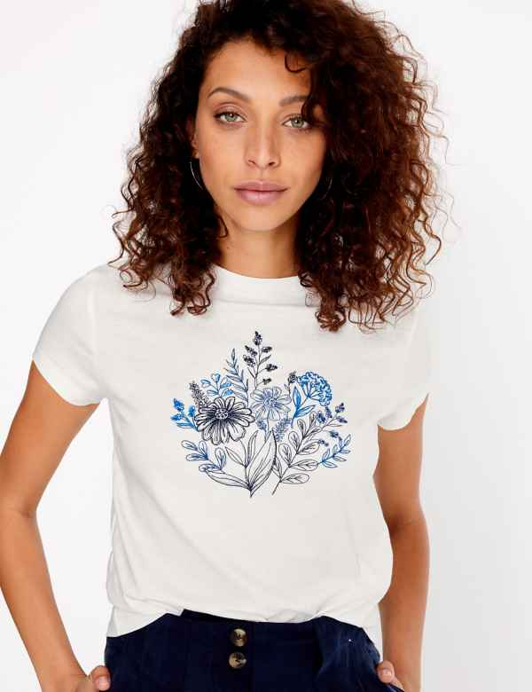 bb51140ec Tops & T-Shirts | Women | M&S IE