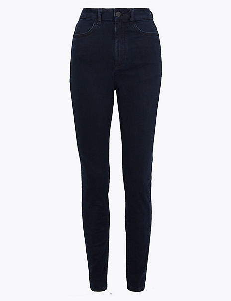 Smart Stretch High Waist Skinny Jeans