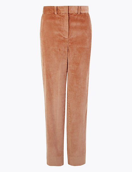 Corduroy Relaxed Trousers