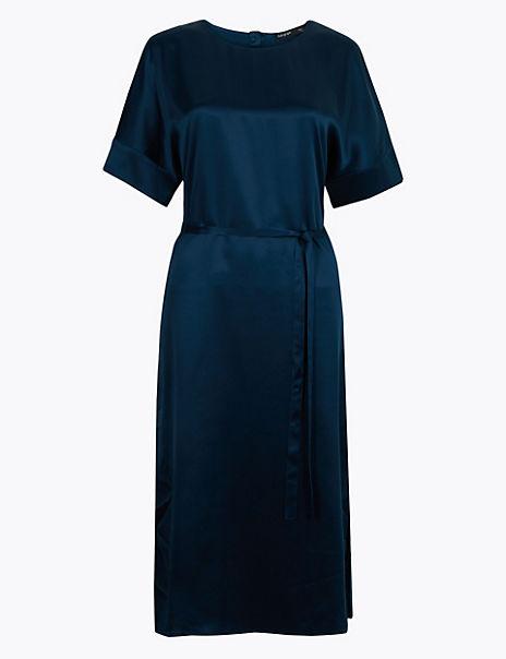 Pure Silk Tunic Dress