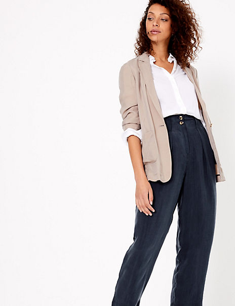 Peg Cropped Trousers