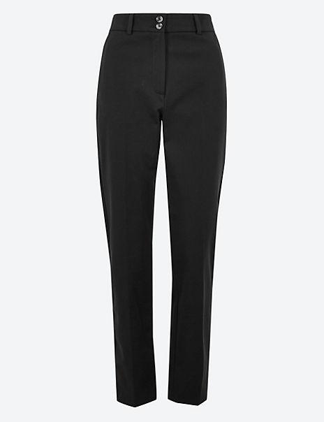 Bi Stretch Slim Leg Trousers