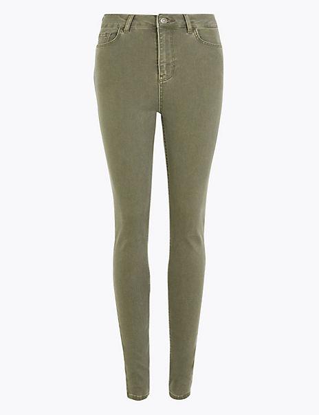 Plush Skinny Ankle Grazer Jeans
