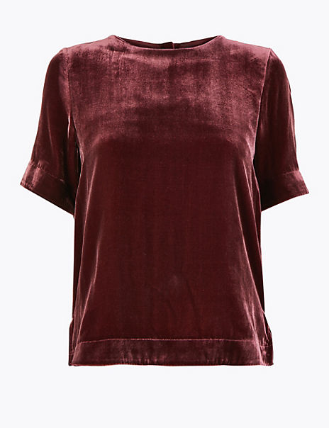 Velvet Relaxed Fit T-Shirt