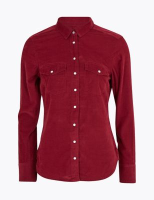 Cord Long Sleeve Shirt