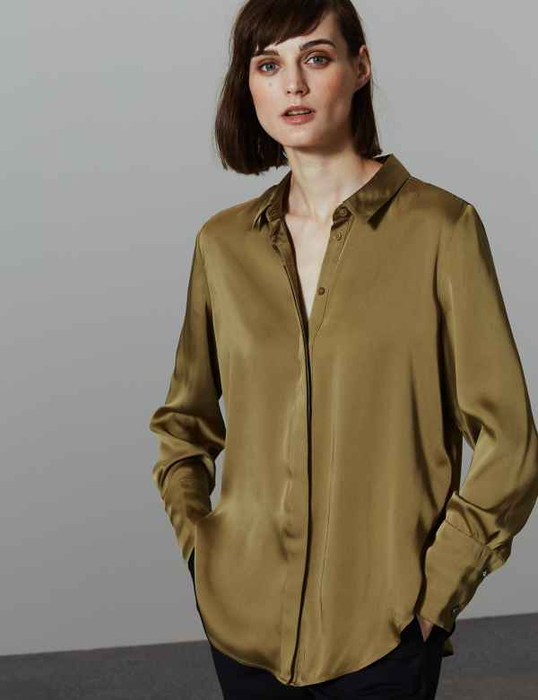 23a64d26ff9729 Womens Work Shirts | Smart Work Blouses For Ladies | M&S
