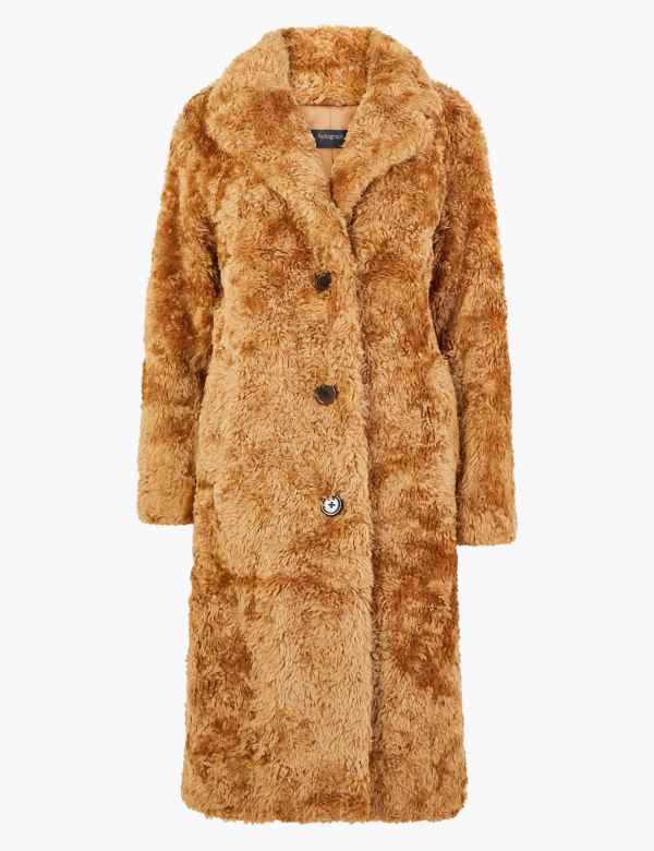 Faux Fur Boyfriend Teddy Coat