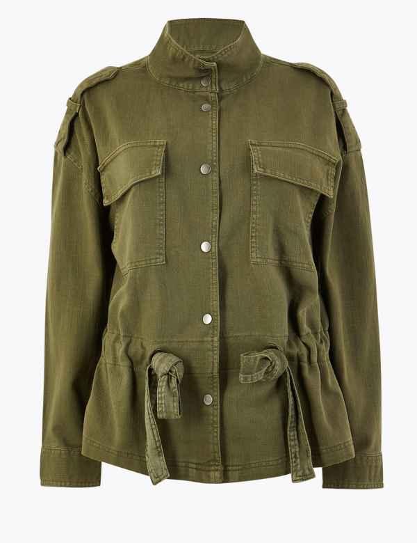 8b1dd4e69921 Women's Coats & Jackets | M&S IE