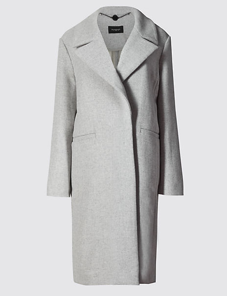 Overcoat with New Wool