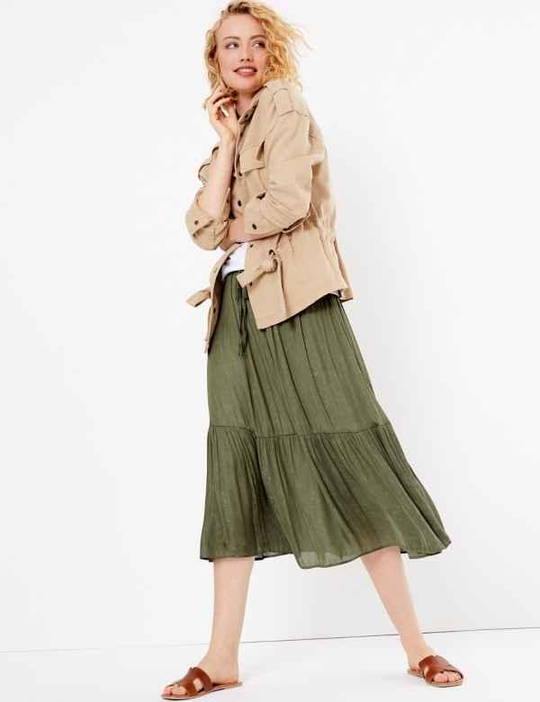 c1b36fb9d Per Una Skirts | Per Una Long & Floral Skirts | M&S