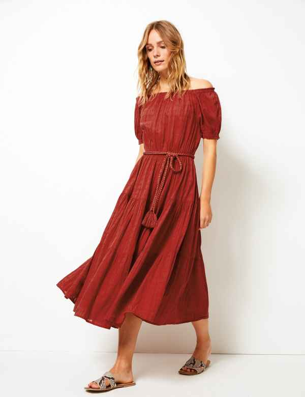 0cf010cedd2bc Red Dresses | Burgundy, Maroon & Dark Dress for Women| M&S