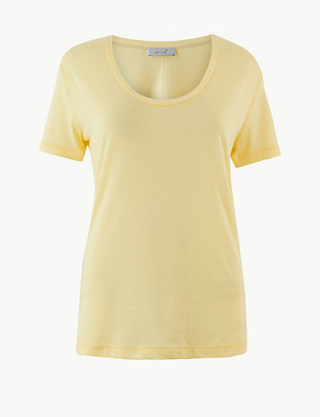 Pure Supima Cotton Regular Fit T-Shirt