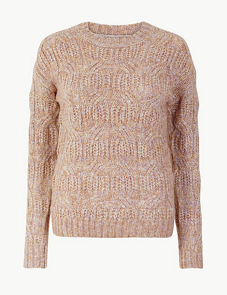 Cable Knit Relaxed Fit Jumper
