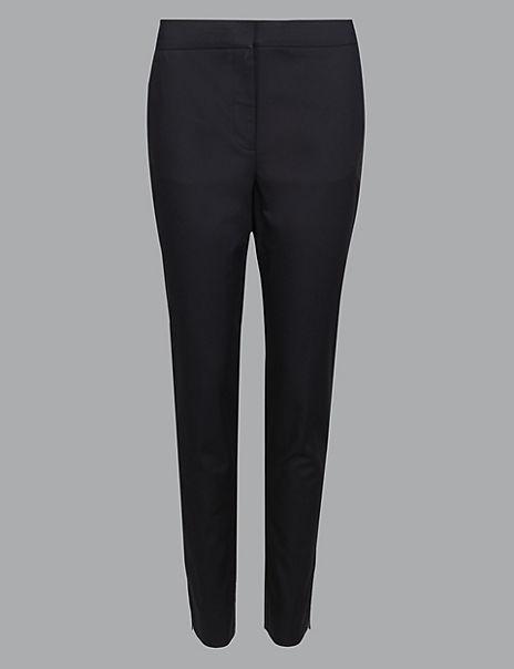 Straight Leg Side Stripe Trousers