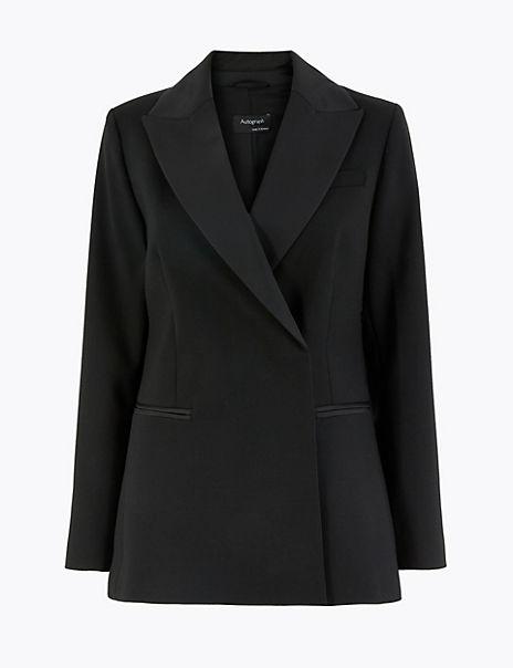 Tailored Tuxedo Blazer