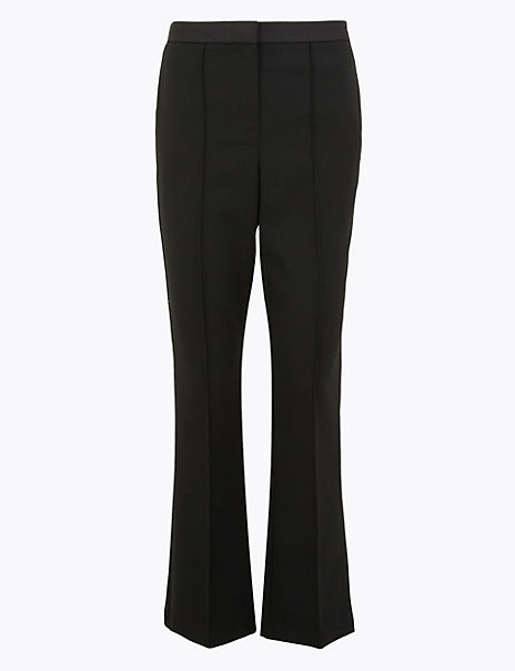Slim Flare Tux Trousers