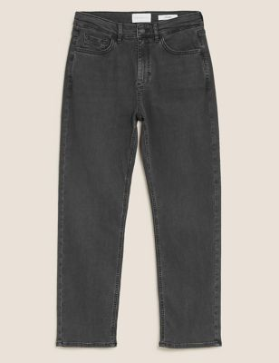 Straight Leg Jeans by Marks & Spencer